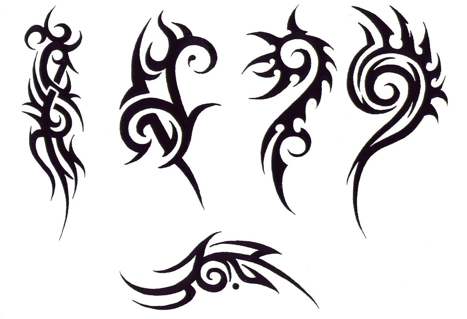 Simple Tattoo Designs To Draw For Men Most Popular Tattoo Designs For Simple Tattoo Designs Tribal Tattoos Cool Tribal Tattoos