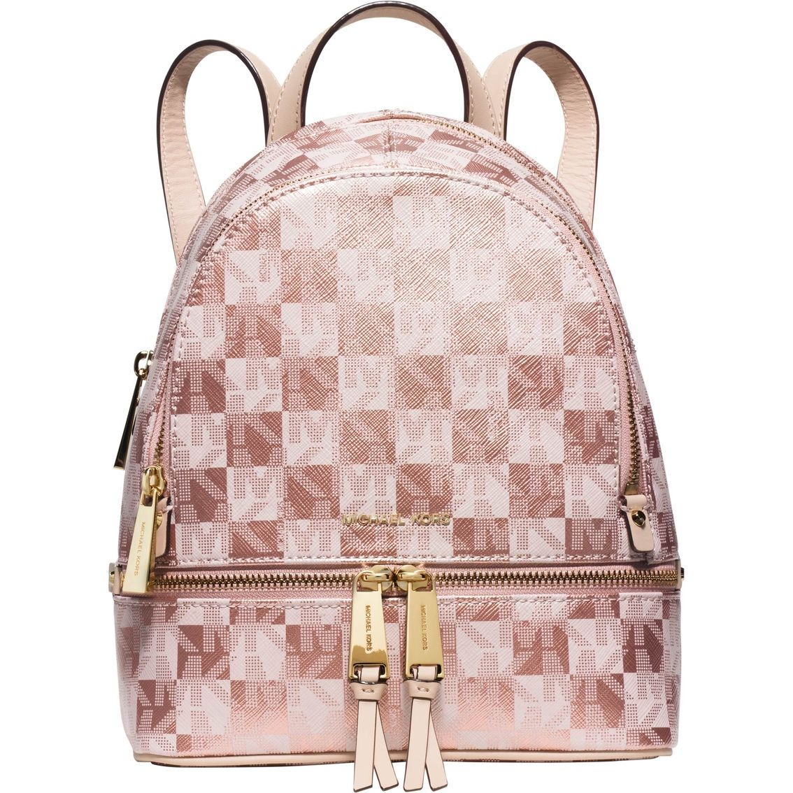 6984eef358 Keep your belongings organized with the trendy Michael Kors Backpack ...