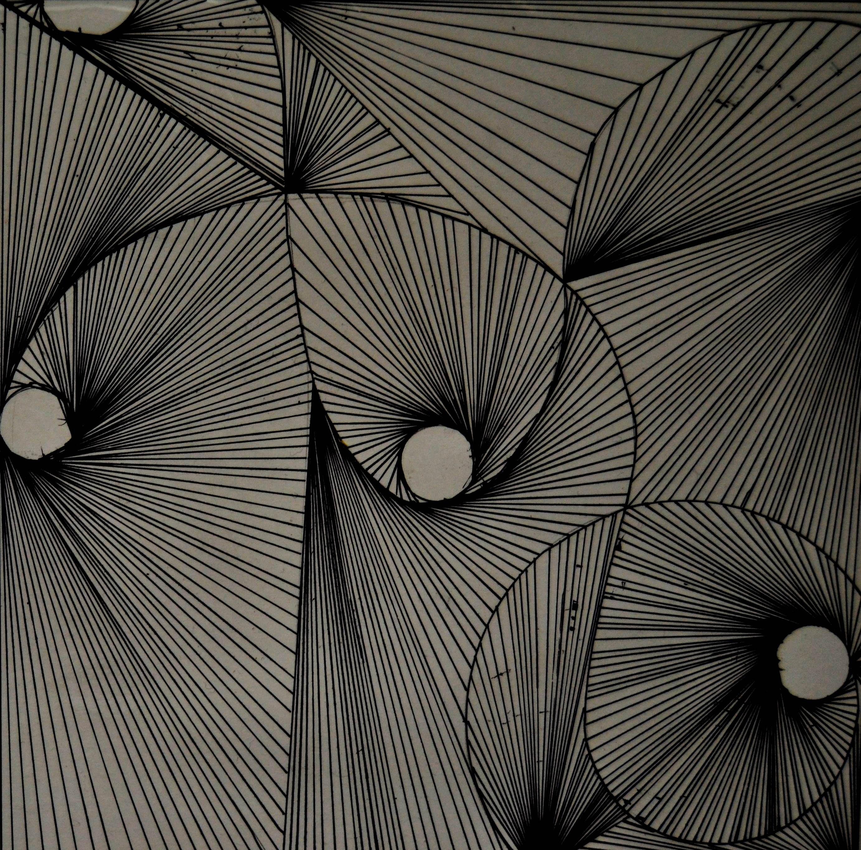 Cizgi Calismasi Optik Illuzyon Sanati Ilham Veren Sanat