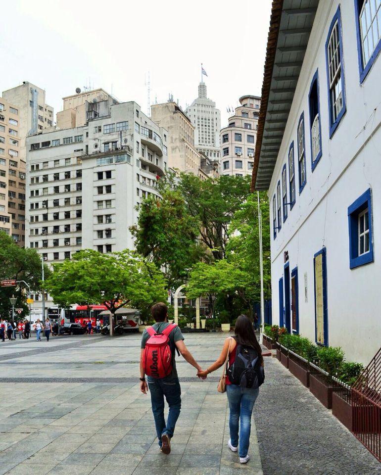 Pateo do Colégio. São Paulo, Brazil.