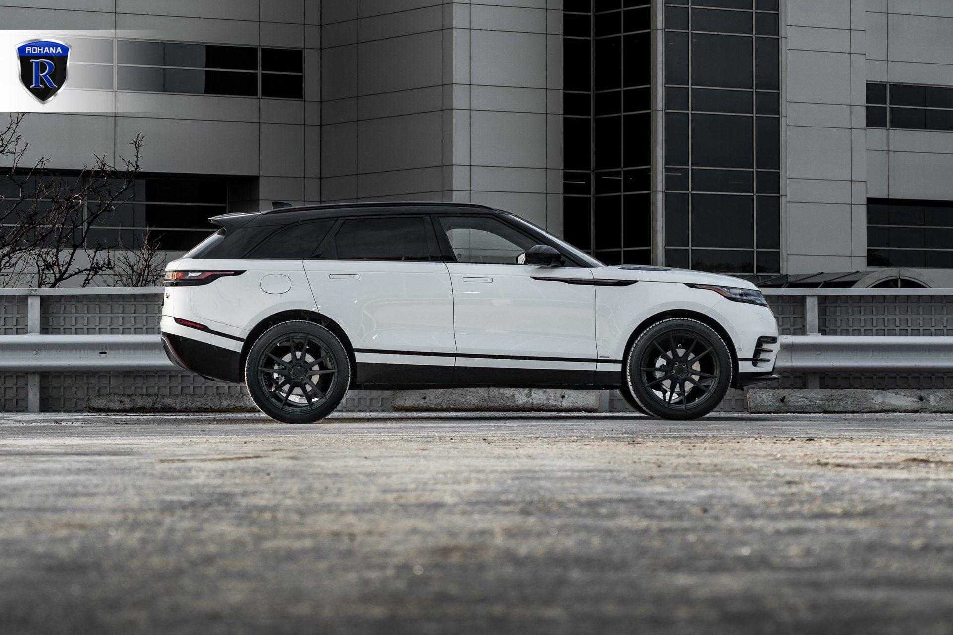 White Range Rover Velar With Custom Side Skirts Photo By Rohana Range Rover White Range Rover White Range
