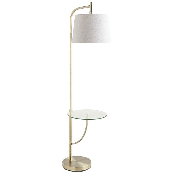 Pier 1 Floor Lamps New Pier 1 Imports Bronze Travis Tray Floor Lamp $169 ❤ Liked On Design Inspiration