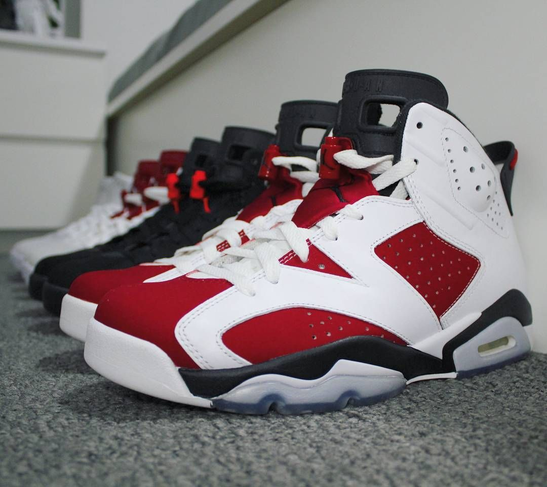 online store 4845f 29cad Go check out my Air Jordan 6 Retro Carmine on feet channel ...