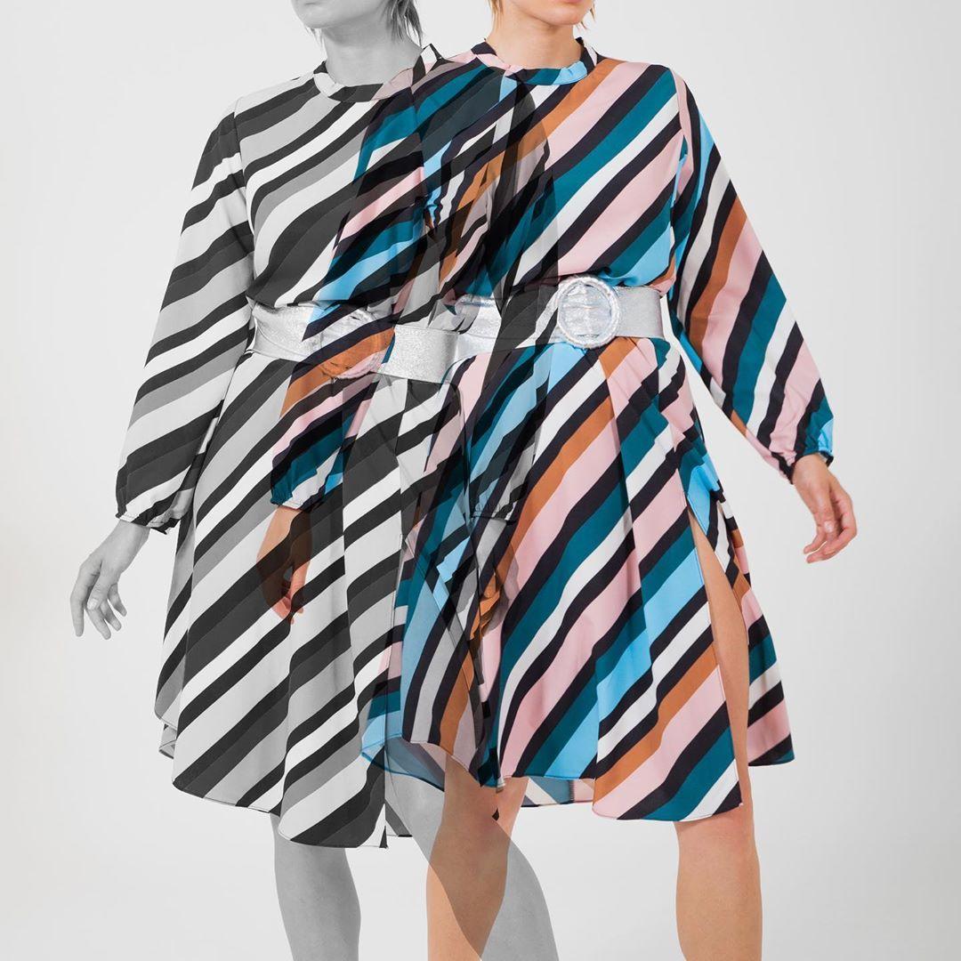 Follow us for more Come ti senti questa sera Bw o a colori Scegli Carol Dress che con i suoi toni pastello porta gioia e colore alla