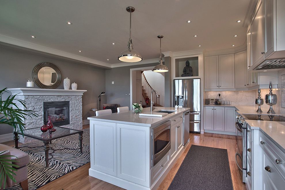 Image Result For Kitchen With Gray Countertops Living Room