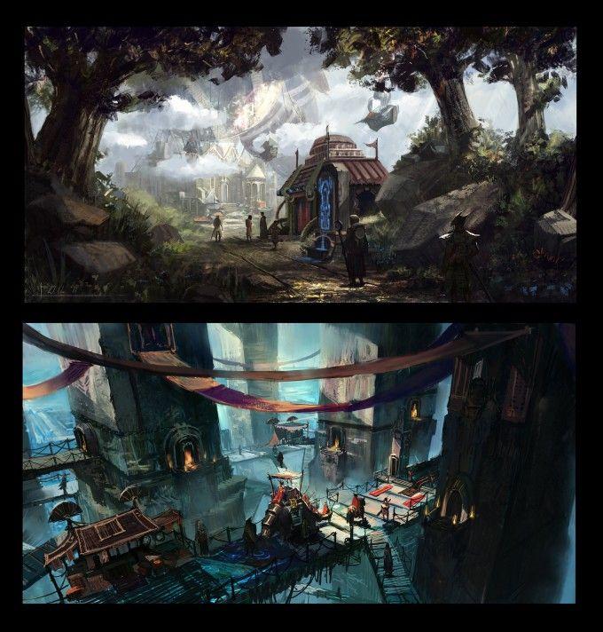 Concept Art World » Kalen Chock