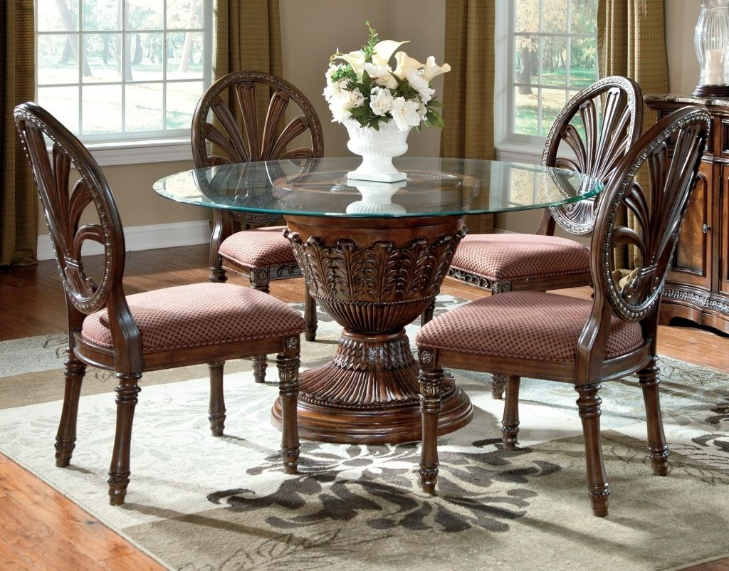 Dining Room, Charming Ashley Furniture Dining Room Chairs Dining Room Sets  Cheap Glass Dining Table