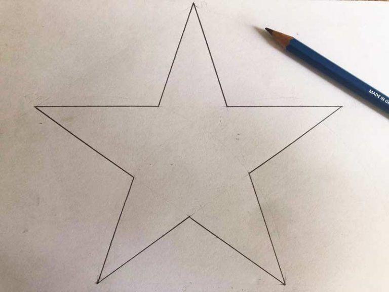 Come Disegnare Una Stella A Cinque Punte Come Disegnare Disegni Colomba Della Pace