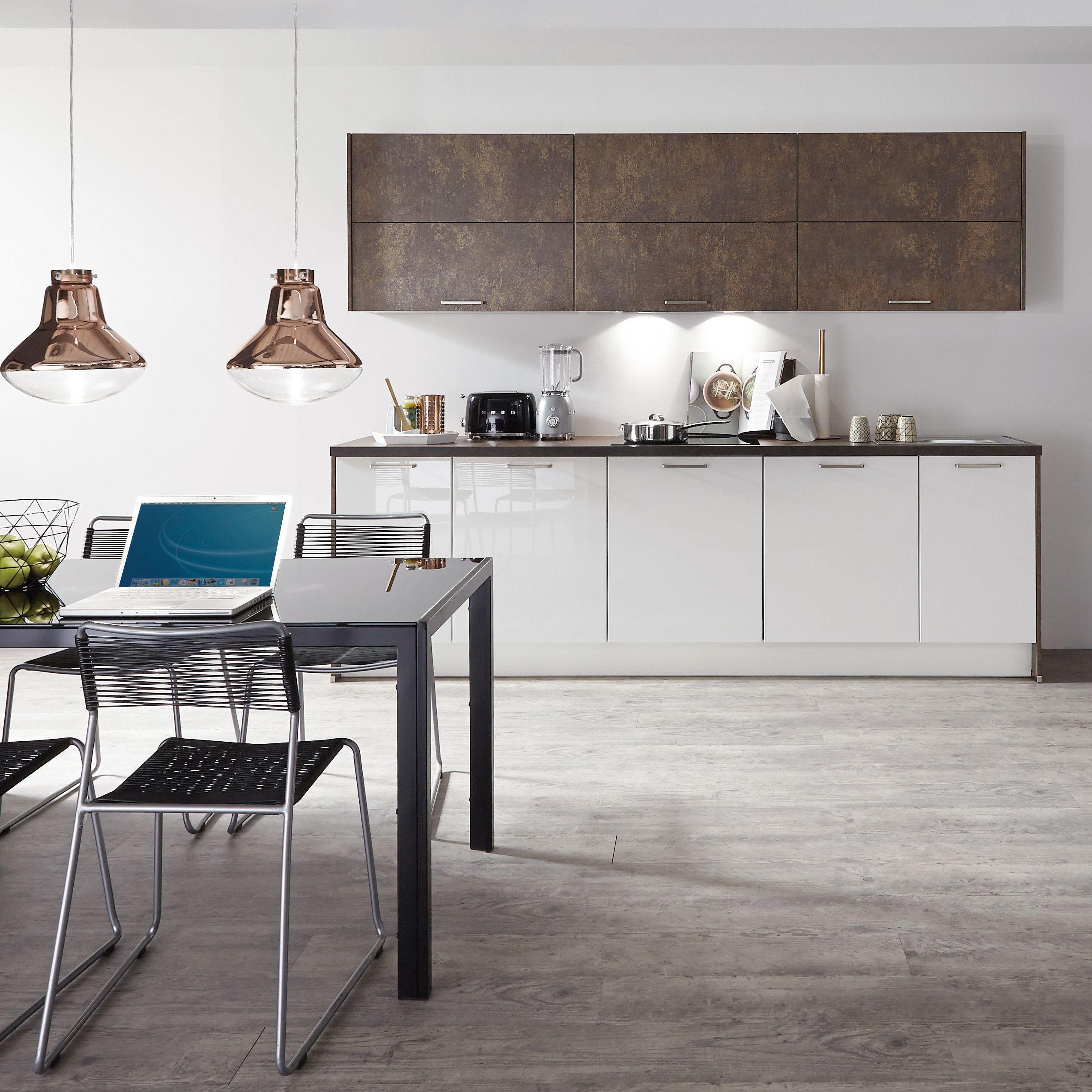 Kupfer Und Weiss Im Mix Kuchentrends Haus Deko