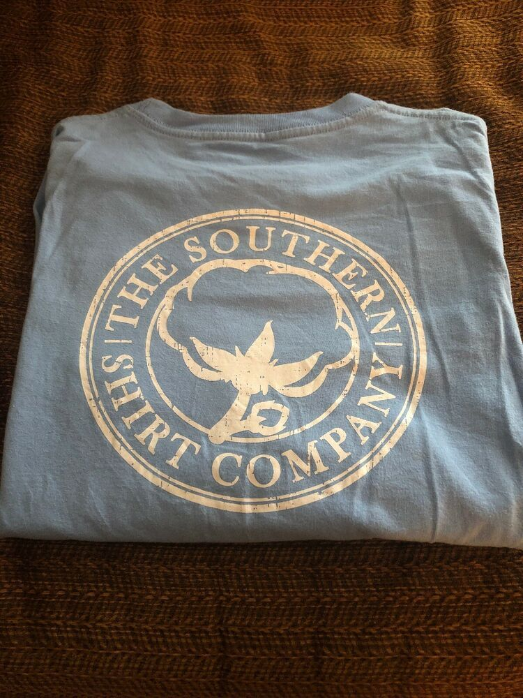 the southern shirt company Girls Size Large Blue Long Sleeve
