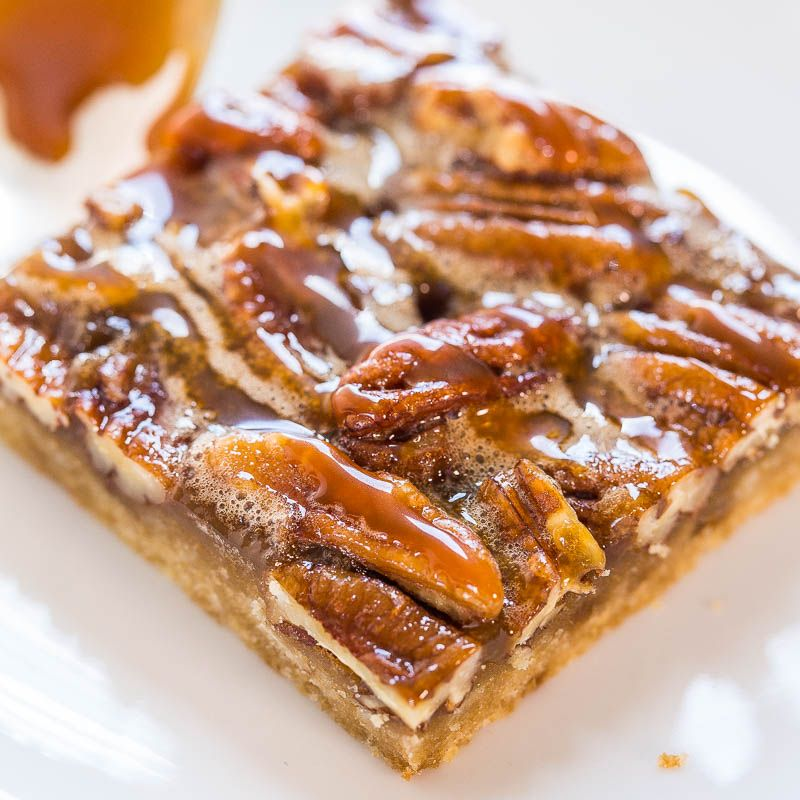 I'm not a big pie person. Mostly because I don't love crust enough to justify the work involved. But pie bars? That's a whole other story. The bars are a spinoff of Salted Caramel and Chocolate Pecan Pie Bars. Chocolate is replaced with maple syrup and the bars are full of rich, smooth maple flavor. …
