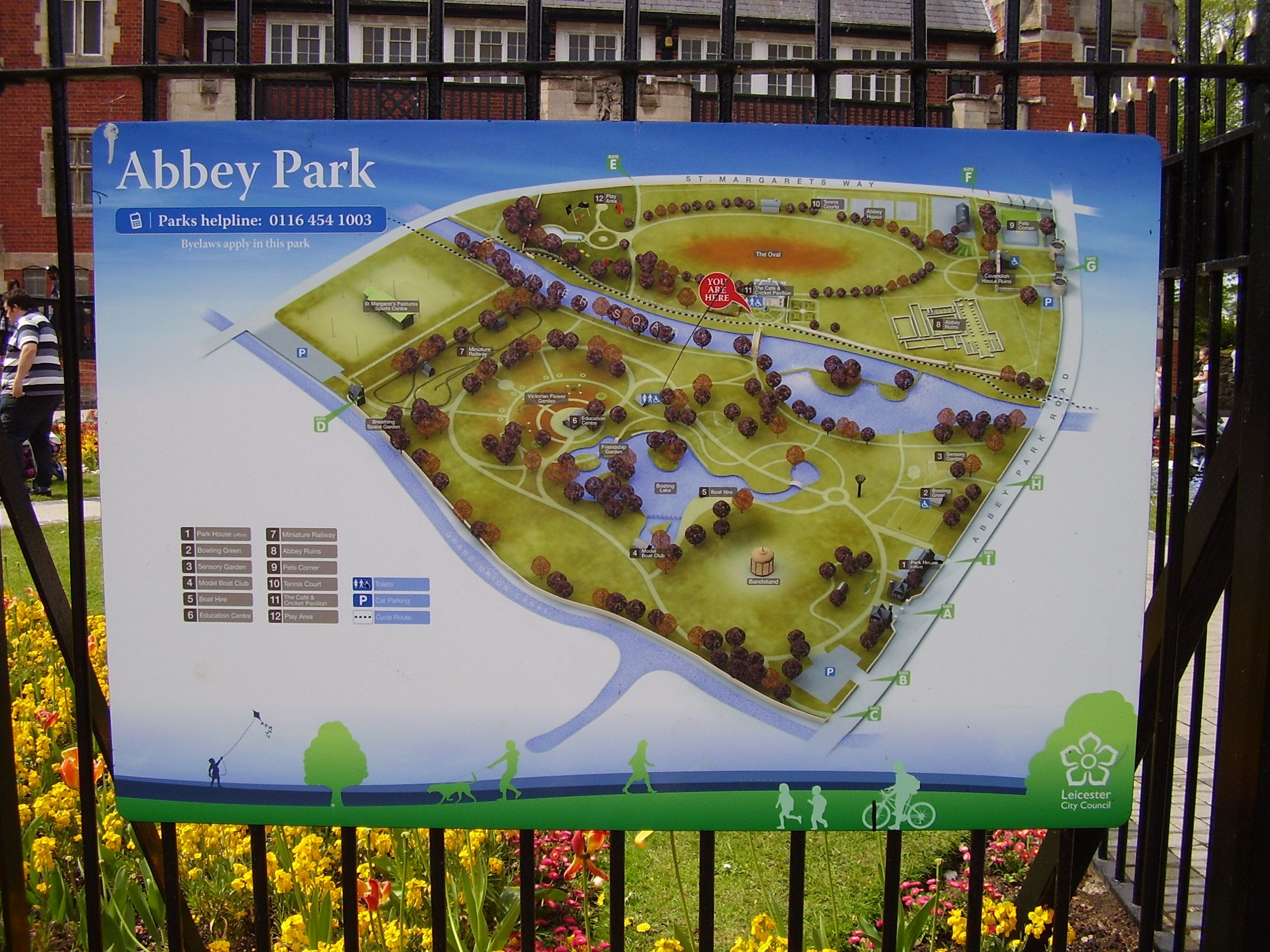 Map Of England Leicester.Map Of Abbey Park Leicester England 1 Edward S Favourites