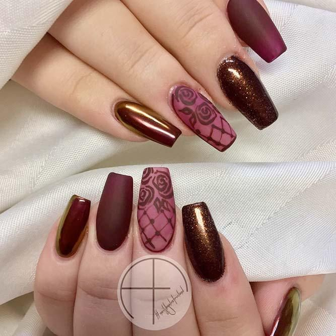 - 21 Stunning Burgundy Nails Designs That Will Conquer Your Heart