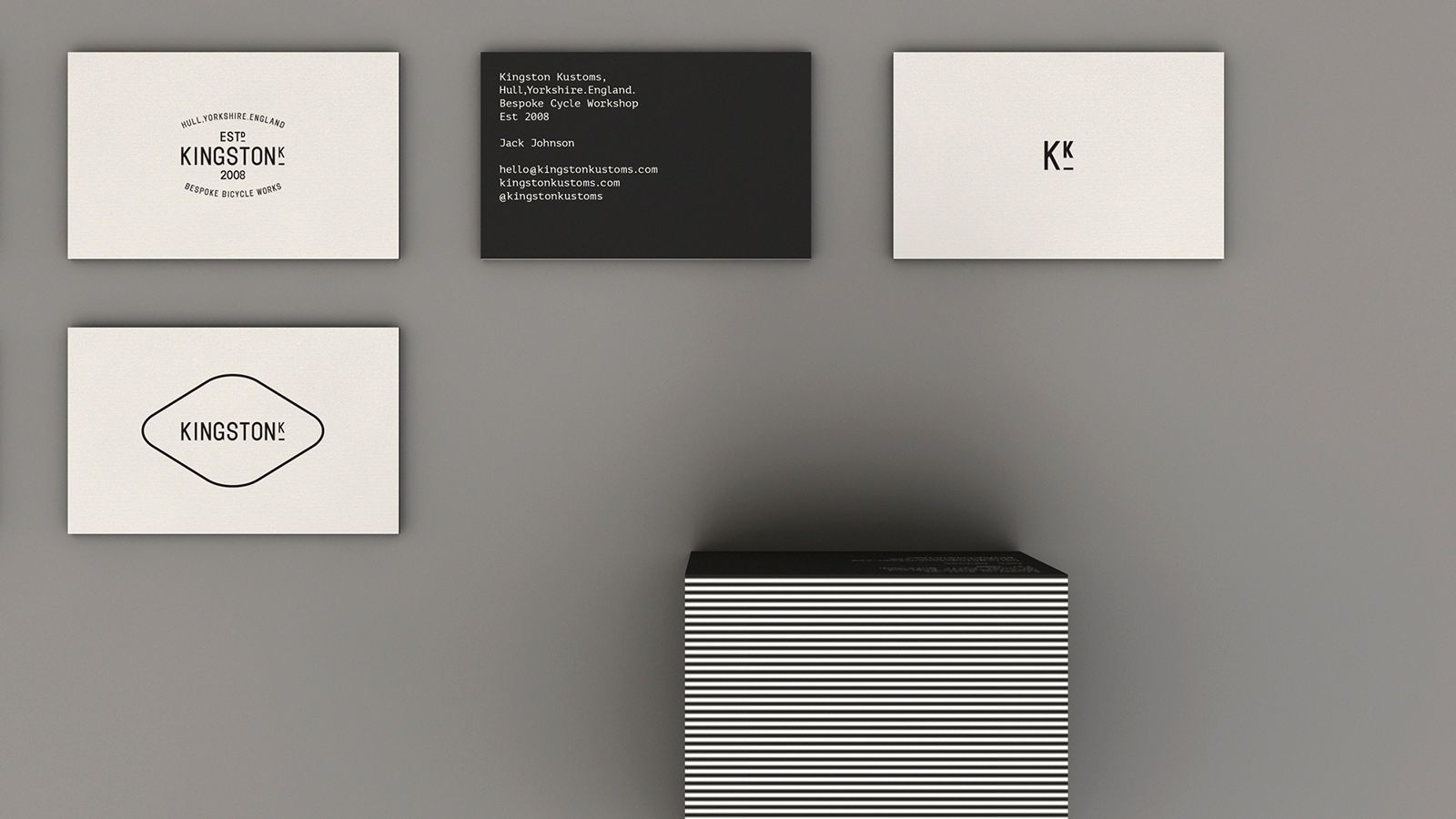 Kingston Kustoms | Studio Contents | typography | Pinterest ...