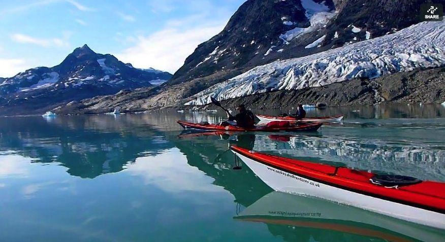 A solo sea kayak expedition in East Greenlands Ammassalik