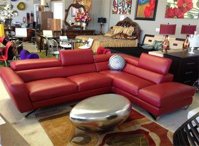 Leather Sectional Sofa Nicoletti Decoracion De Livings
