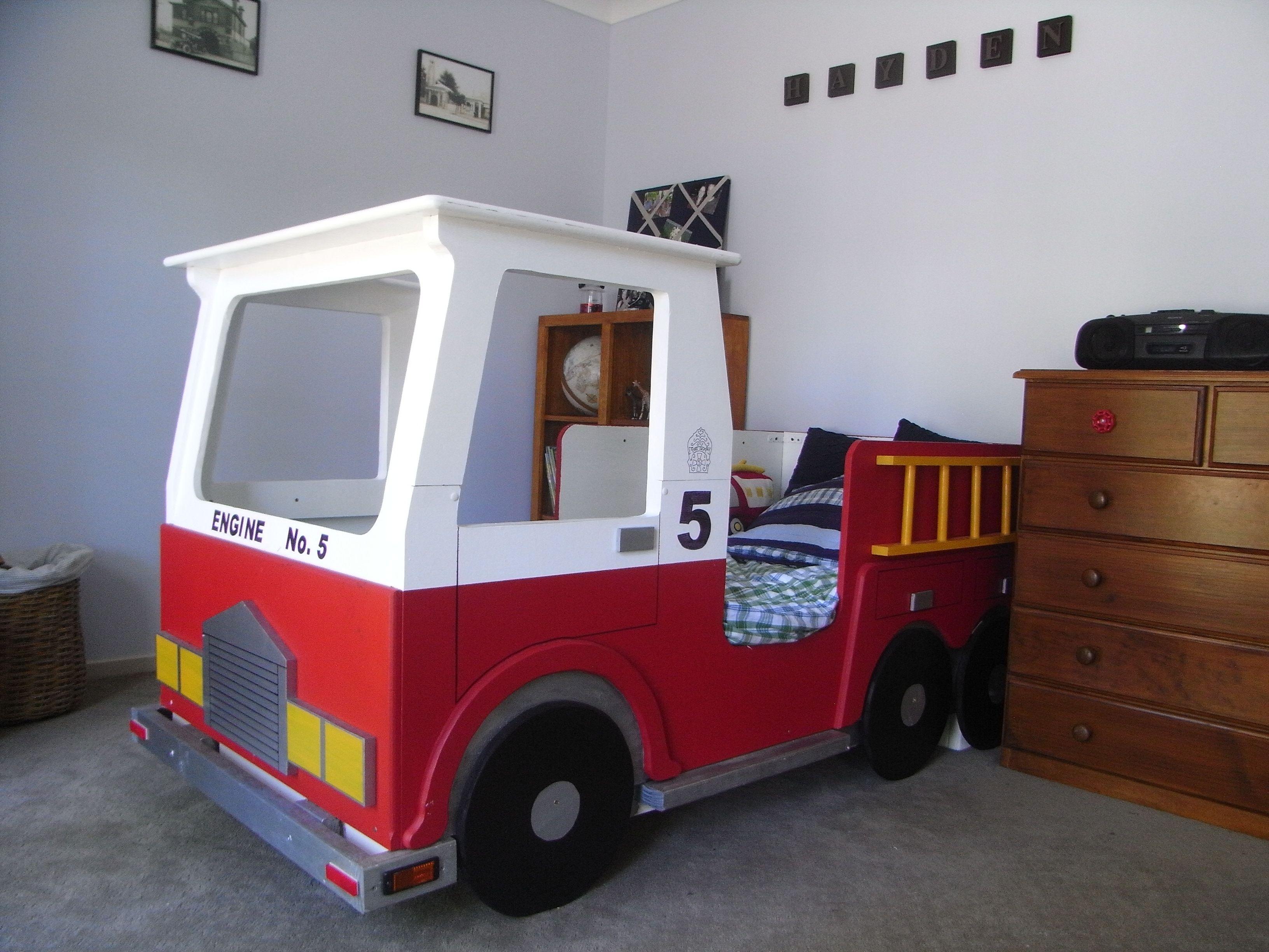 Fire Truck Bed Madeatthisplace Blogspot Com Au Firetruck Bed