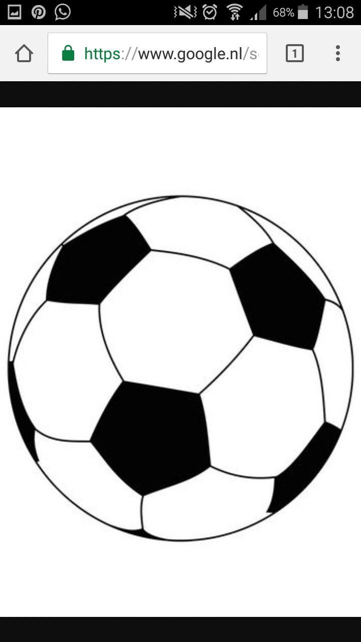 Dit Plaatje Heb Ik Erop Gezet Omdat Ik Deze Bal Als Voorbeeld Voor Mij Bal Heb Gebruikt Voetbal Tekenen Voetbal Afbeeldingen