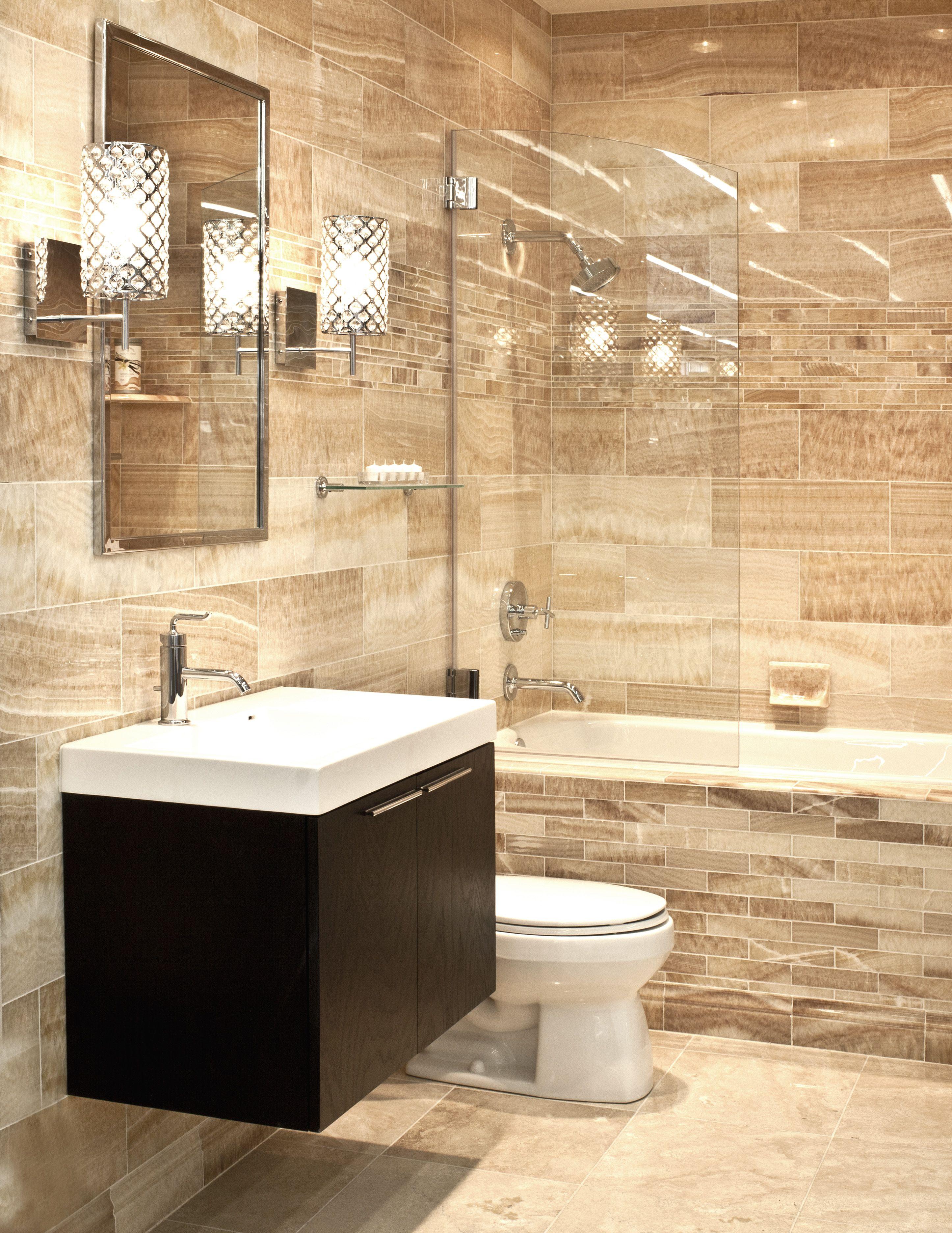 Luxurious Onyx Bathroom Bathroom remodeling Pinterest