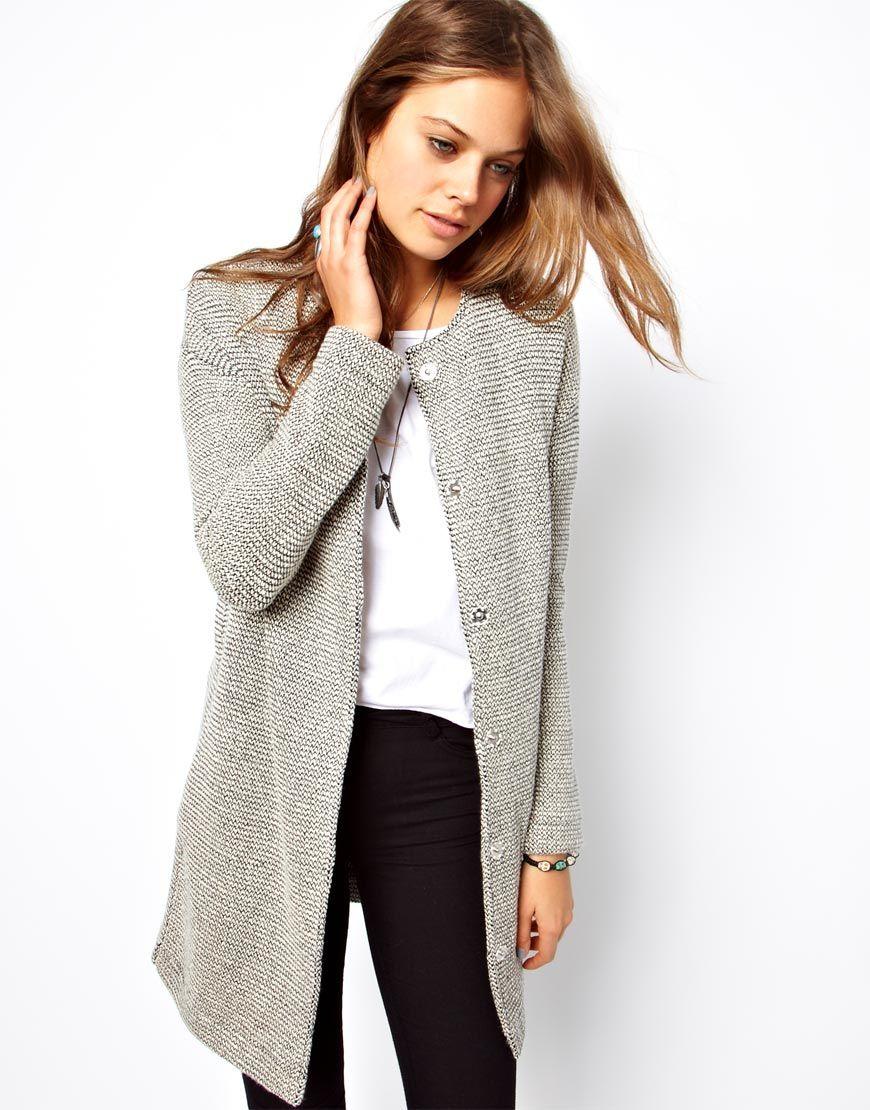 Asos Asos Jacket In Longline And Texture At Asos Fashion Clothes Asos Jackets [ 1110 x 870 Pixel ]