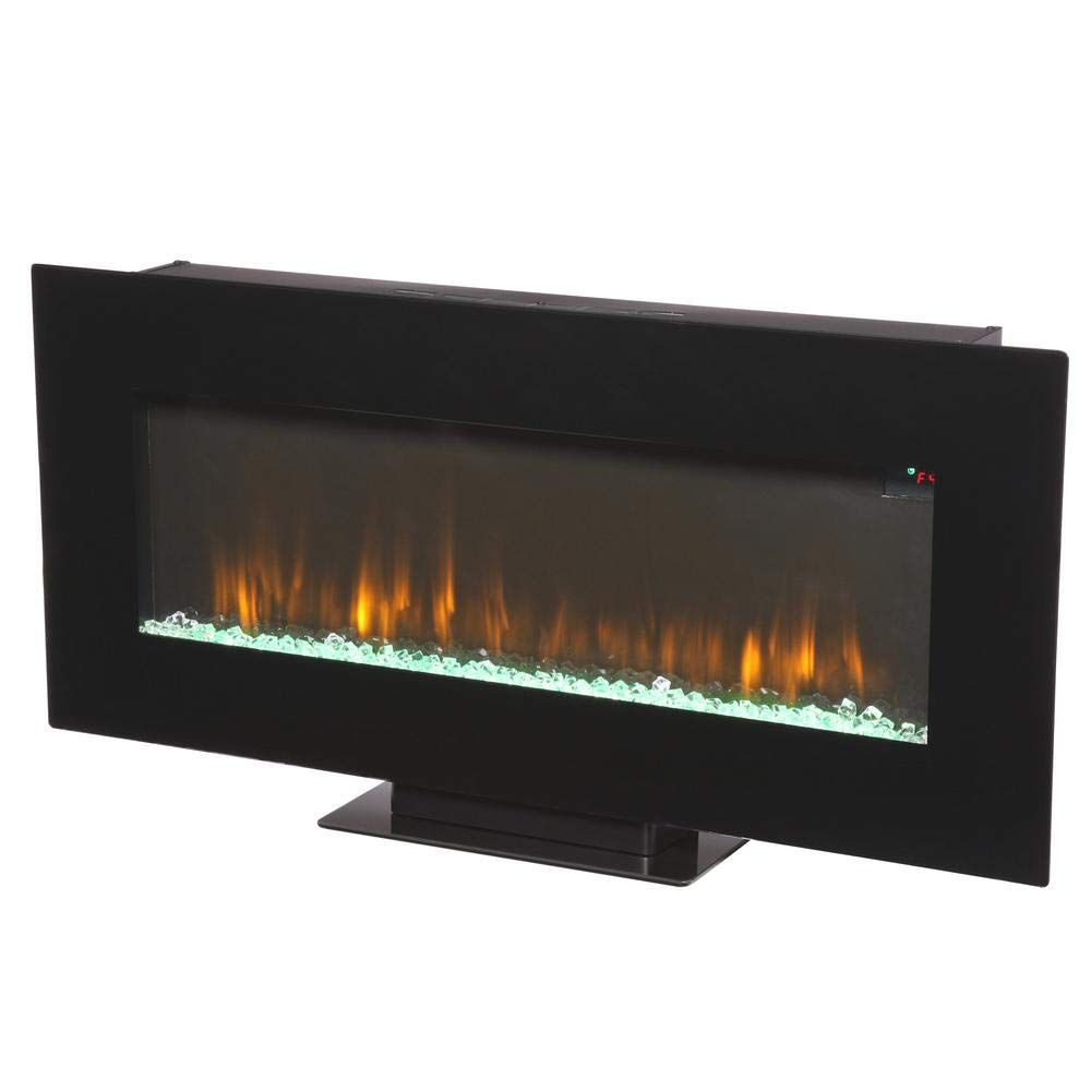 Amazon Com Home Decorators Collection 42 In Infrared Wall Mount Electric Fireplac Wall Mount Electric Fireplace Electric Fireplace Home Decorators Collection
