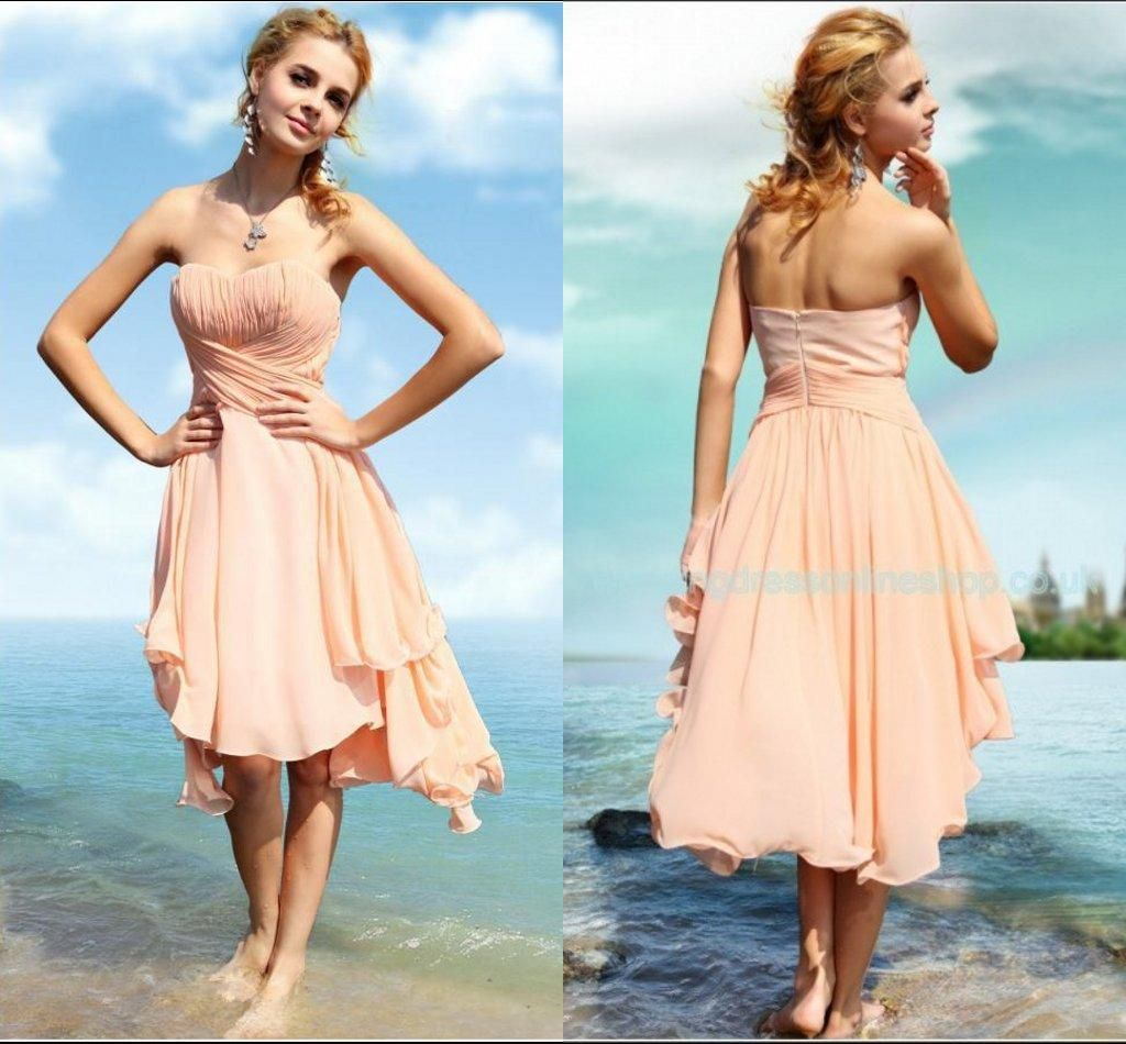 2019 Beach Wedding Bridesmaid Dresses - Dresses for Guest at Wedding ...