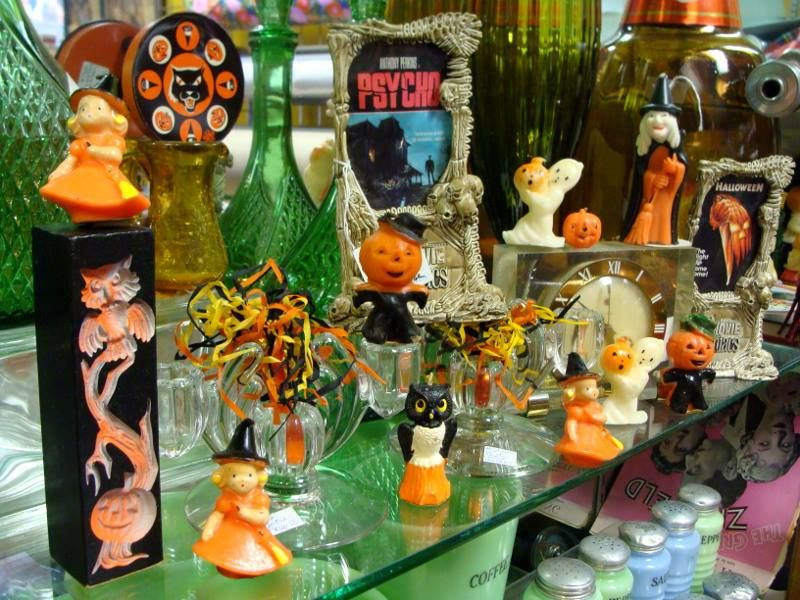 Cool Halloween decorations from Flower Child in Cleveland