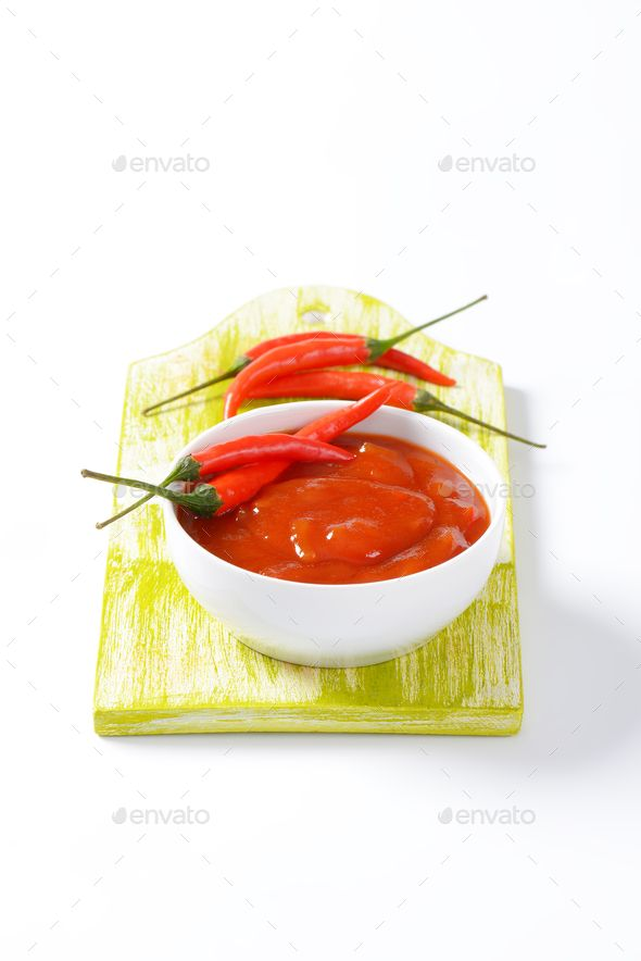 Hot Tomato-Pepper Sauce by Vikif. Tomato sauce with hot peppers, garlic and onion #AD #Sauce, #Vikif, #Pepper, #Hot