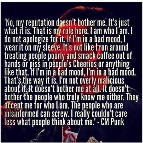 Cm Punk | WWE | Pinterest | CM Punk, Punk and Cm punk quotes