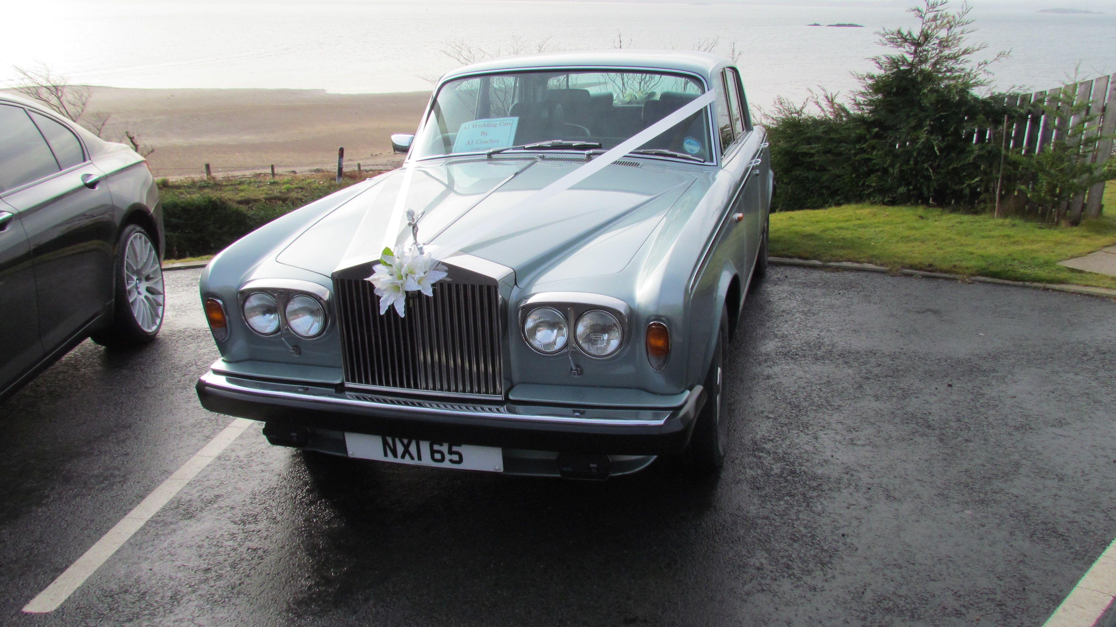 Wedding Cars Rolls Royce Silver Shadow At Pettycur Bay Hotel Fife