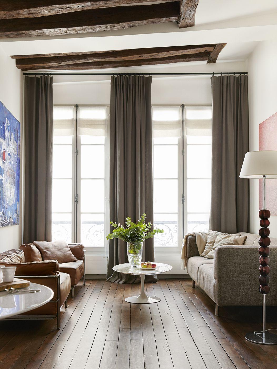 Ce duplex d 39 une chambre est incroyablement lumineux et for Immobilier design paris