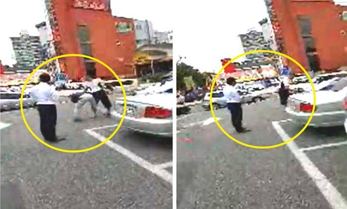 '주차 관리' 할아버지 폭행한 조직 폭력배