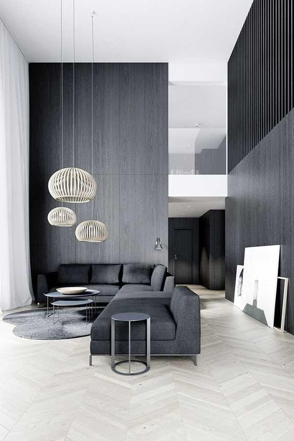 Interior Design Style Quiz | Modern minimalist living room ...