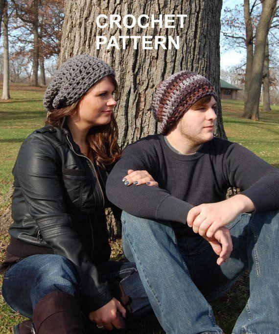 f8026ae6752 Brimless Slouchy Beanie Crochet pattern