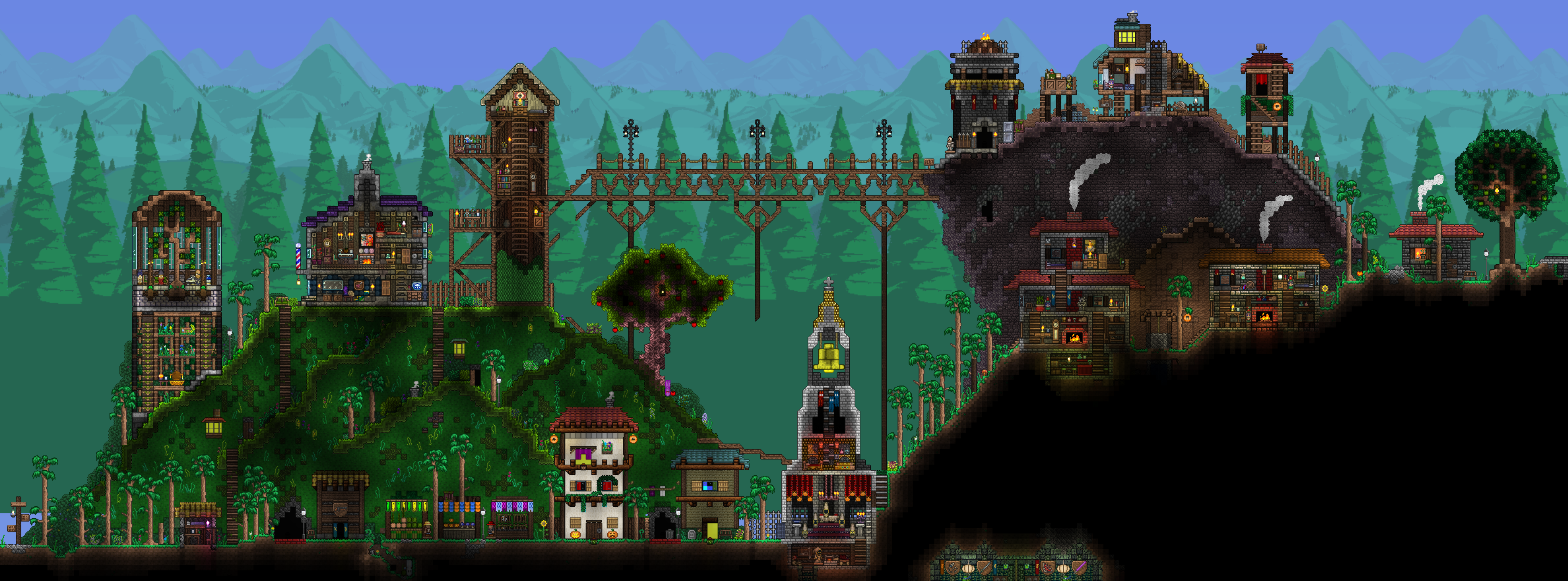 by BaergrimBellyBoulder | Terraria and Starbound | Terrarium