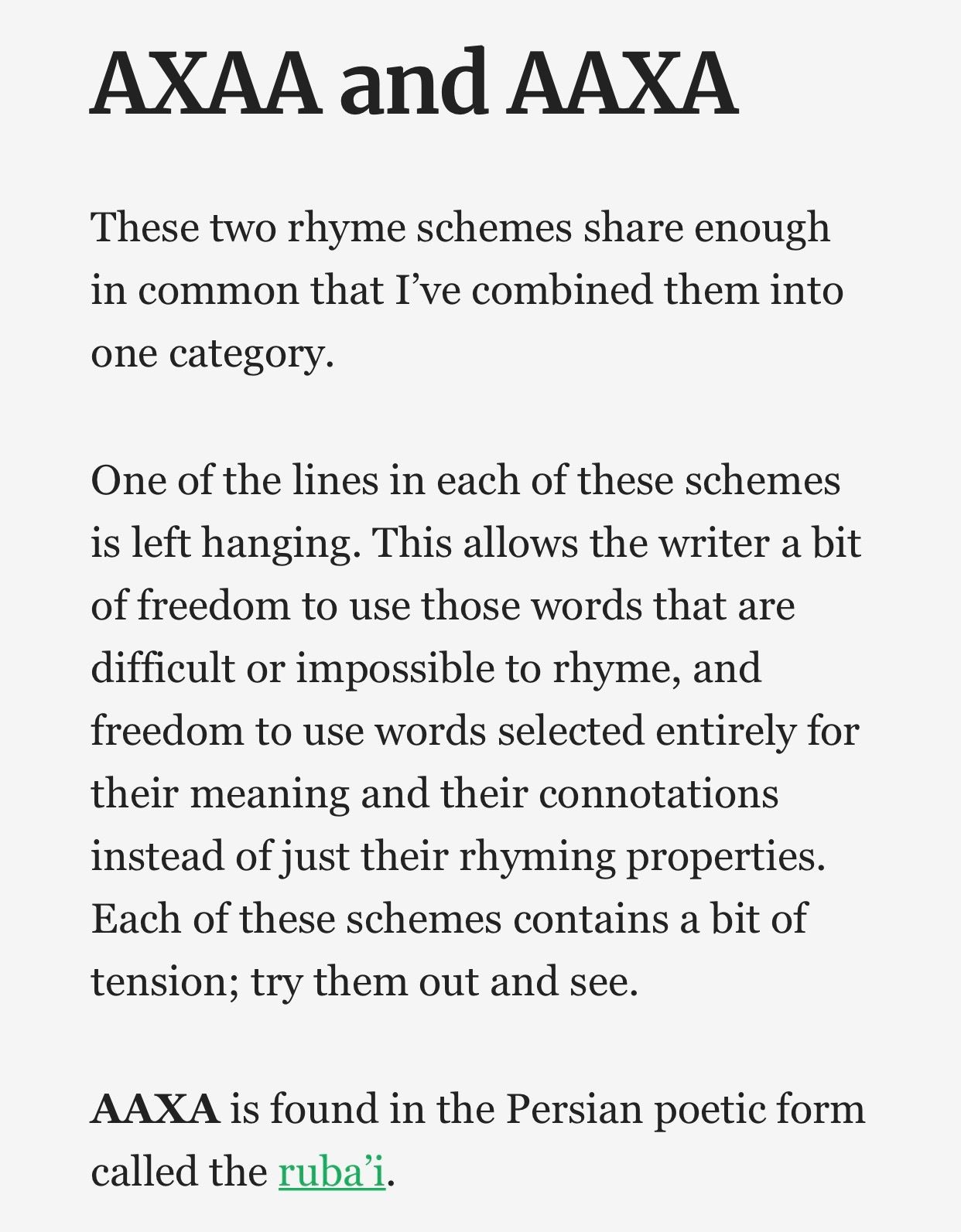 Pin by LEF on Wax Poetic | Rhyme scheme, Words, Waxing poetic