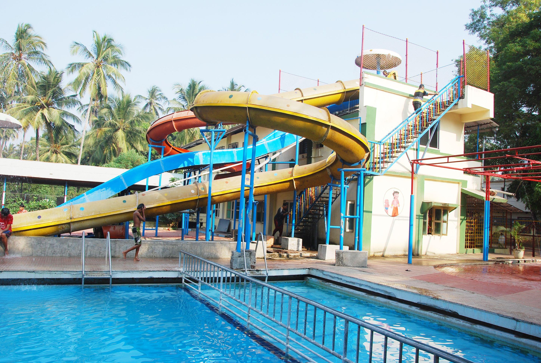 Arnala Beach Resort Is A Local Getaway And Waterpark At Maharashtra