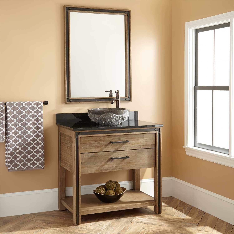 36 Celebration Vanity For Vessel Sink With Images Bathroom
