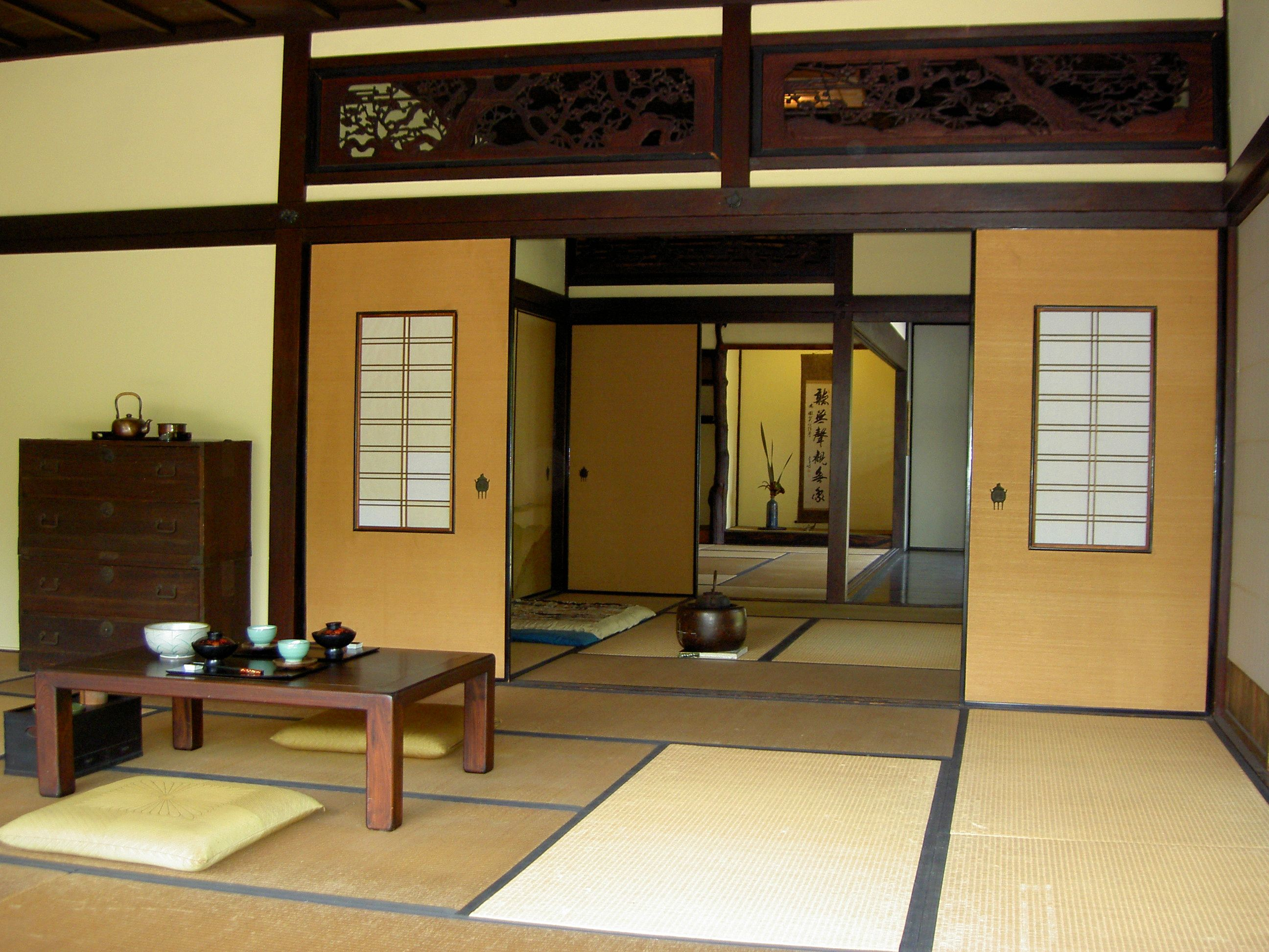 Stylish Traditional Japanese Interior Design