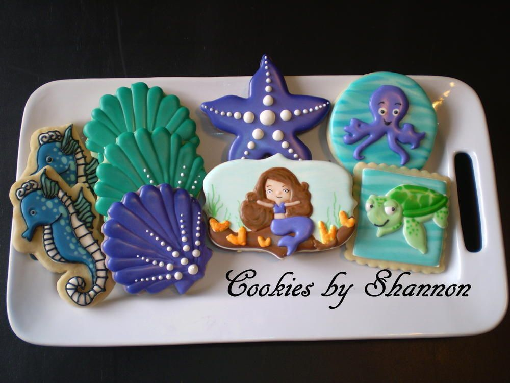 Mermaid/Under the sea | Cookie Connection