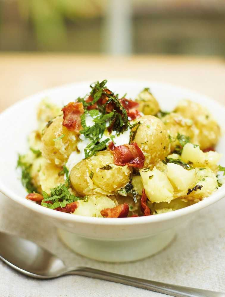 Try Our Easy To Follow Jamies Broken Potato Salad Recipe Absolutely Delicious With The Best
