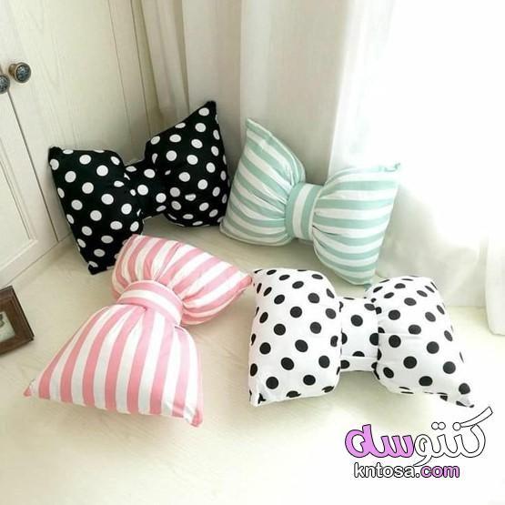 اشكال خداديات حلوه اشكال مخدات مجالس خداديات ديكور2020 اشكال مخدات للصالون Bow Pillows Diy Pillows Pillow Collection