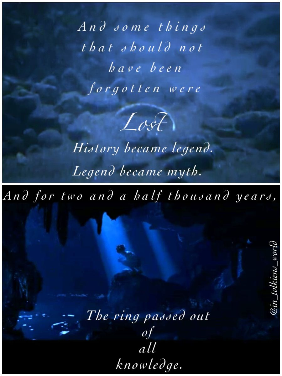 Lord Of The Rings Quote History Became Legend And Legend Became