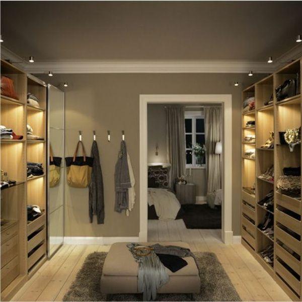 luxus begehbarer kleiderschrank 120 modelle inloopkast slaapkamer inloopkast inloopkast