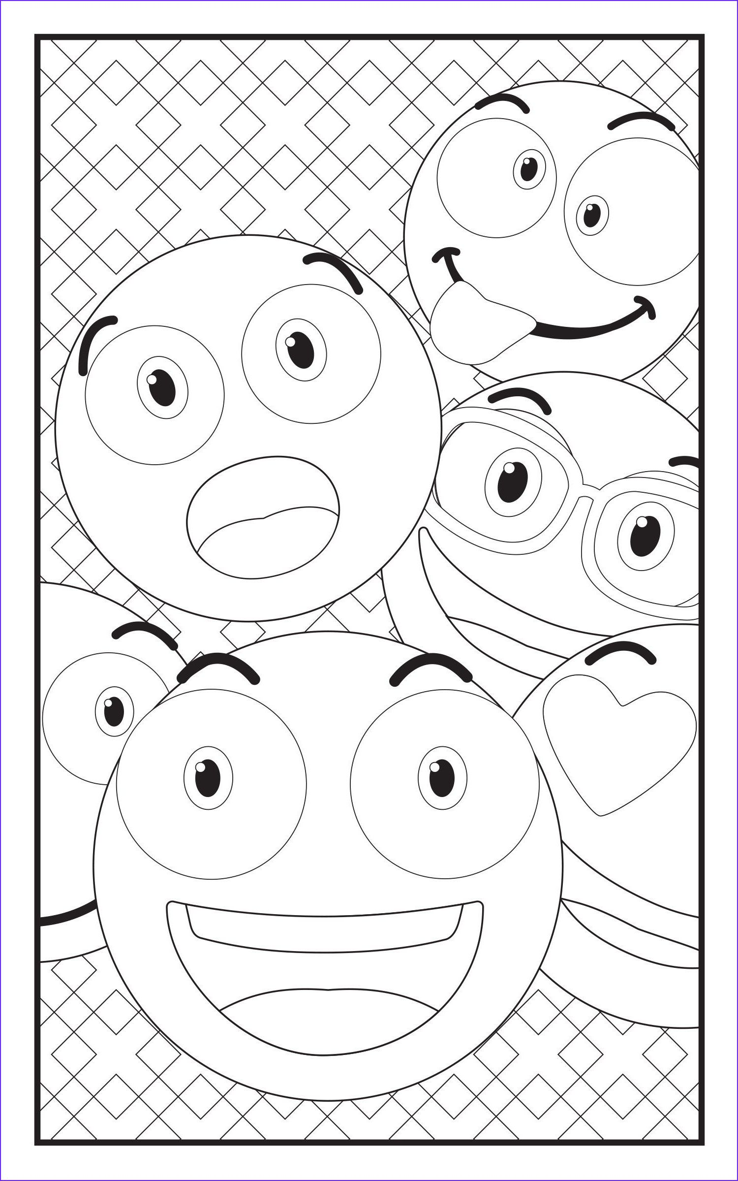 45 Beautiful Images Of Emoji Coloring Book In With