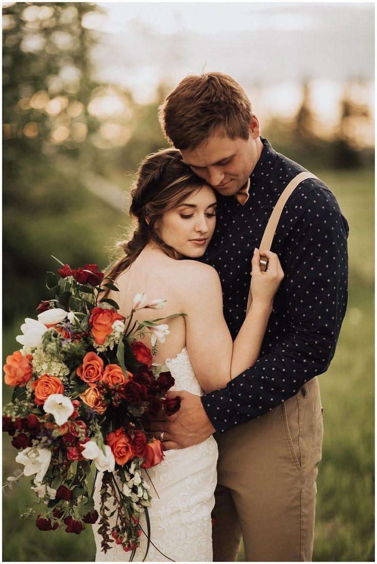Moody Bohemian style wedding photography / Fall Wedding