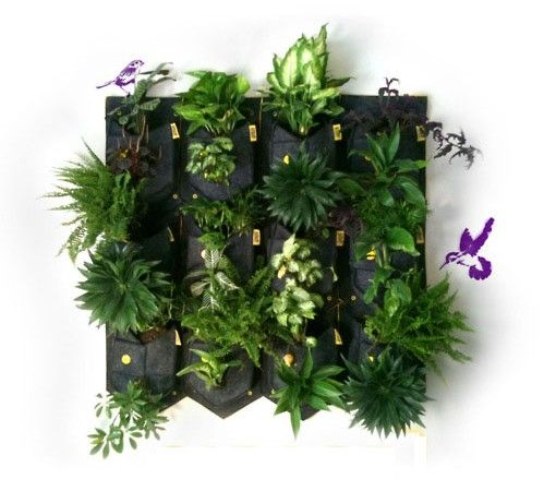 Cara De Planta Is A Modular Vertical Garden System Comprised Of Series Of  Waterproof Pockets. Suitable For Both Indoor And Outdoor Spaces (assuming  You Are ...