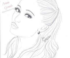 Thumb Jpg 240 200 Coloring Pages Ariana Grande Drawings