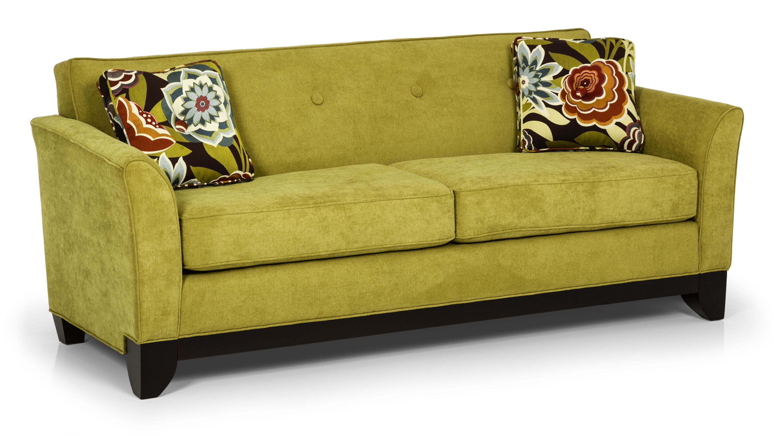 Wel e to Stanton Sofas cachet macaw I love this color