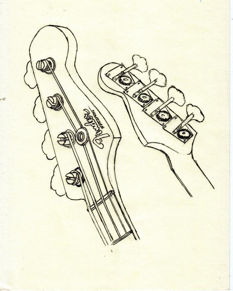 Wiring Diagram For Fender P B Fender Bass Amps Fender Tele Plus
